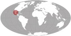 Mexiko na mape sveta